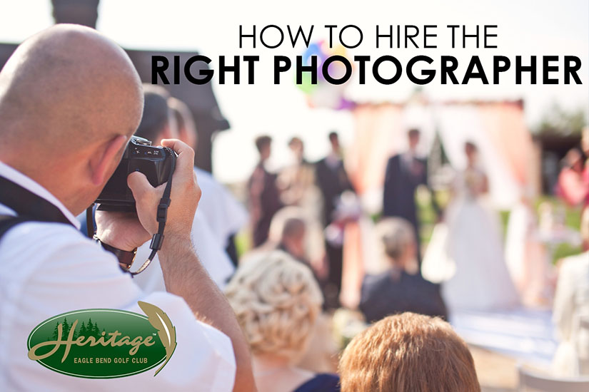 How to hire the right photographer