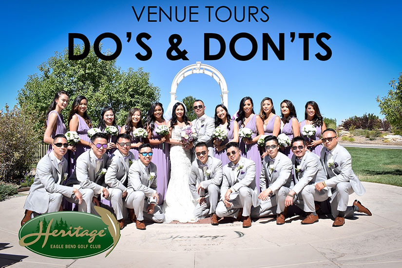 Venue tours do's and don'ts