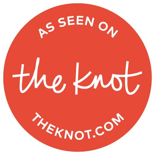 As seen on The Knot. theknot.com